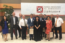 The Delegation of Canadian Think Tank Leaders and Scholars visits TFD on August 15, 2018