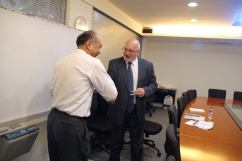 Visit of Senior Advisor of Community of