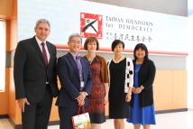 Visit of senior official and Executive Director of Canadian Trade Office in Taipei (CTOT)