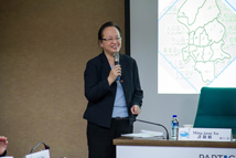 "【""Participatory Budgeting in Taiwan: A Dialogue from Within and Without"" International Conference】Min-Juan Xu, Deputy Commissioner, Department of Civil Affairs, Taipei City Government, delivered her speech."