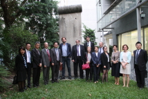 2019/10/21_Visit of the Delegation of European Scholars, and Policy Planning Officials from France, Germany and Poland_Group photo