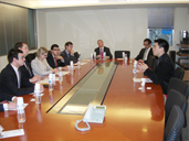 Visit of Delegates of Young Leaders from Conservative Party