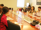 Overseas Chinese Scholar Group visits