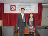 Visited by Dr. Fang-long Shih ,London School of Economics and Political Science